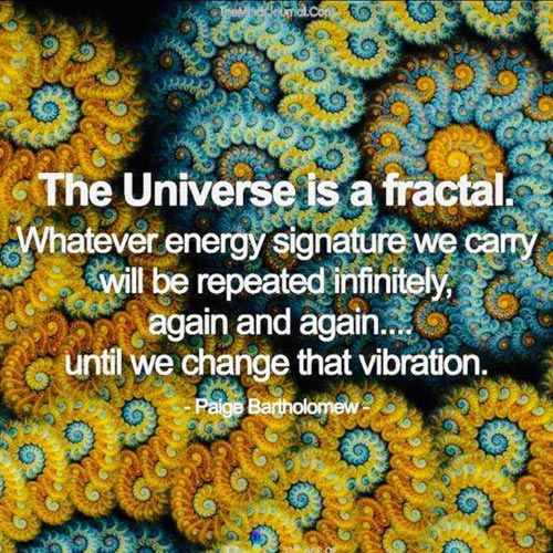 The universe is fractal